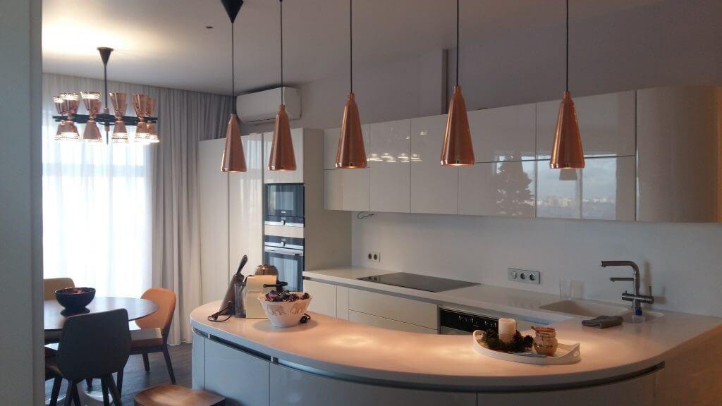 Монтаж электропроводки на кухне